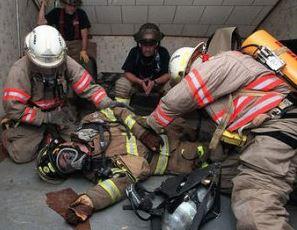 firefighter training scenario