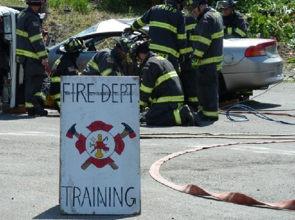 firefighter hands on training