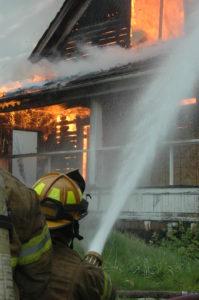 action training firefighter training