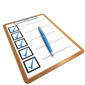 check list for firefighter grant application